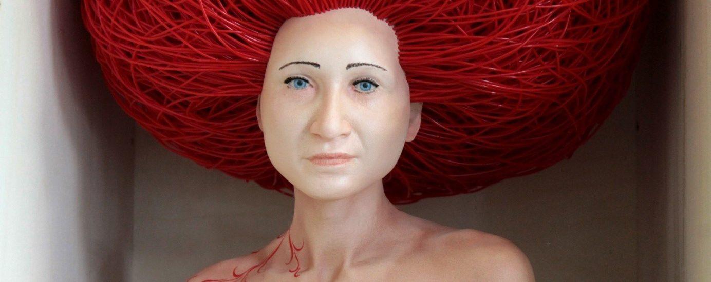 Sculpture de l'artiste Stéphane Barret