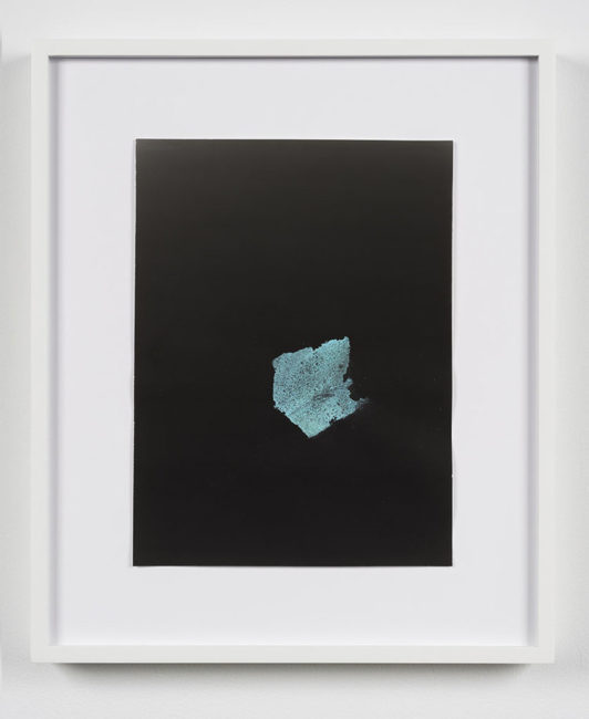 Jessica Labatte, Turquoise, 2015. Série Underwater Highway.