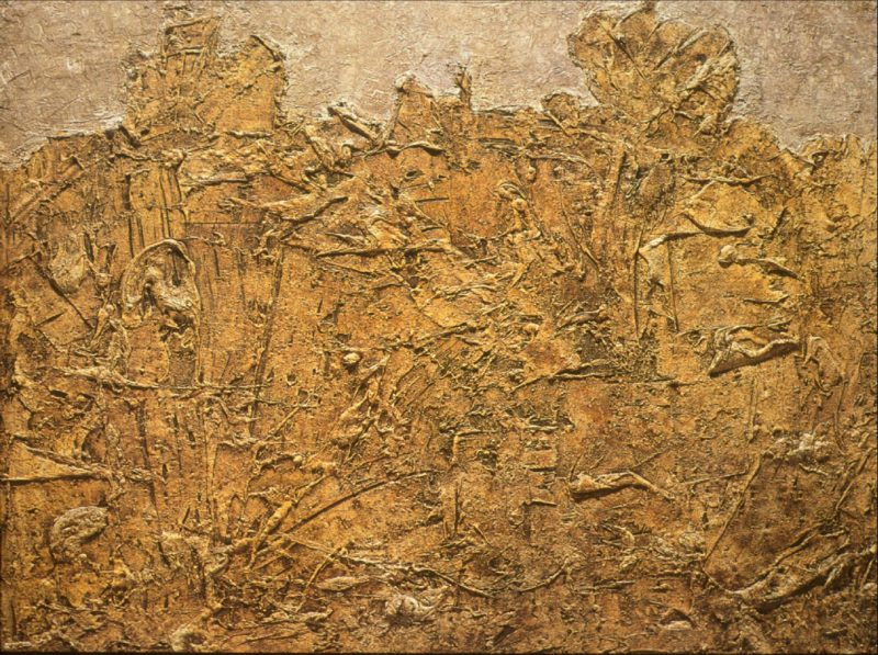 Jean Dubuffet, Paysage blond, 1952