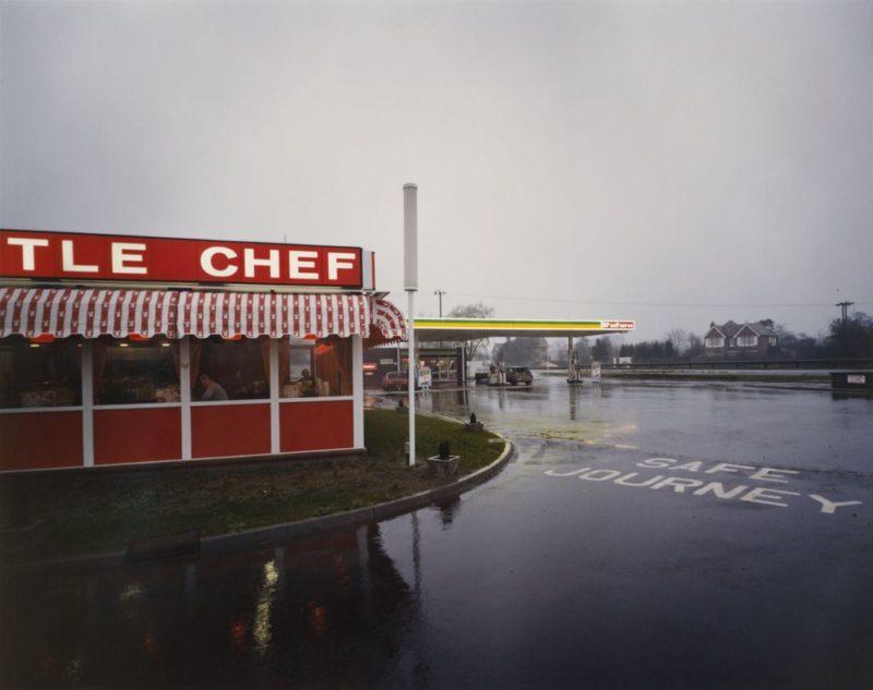 Paul Graham, photographie de la série consacrée à l'Autoroute A1