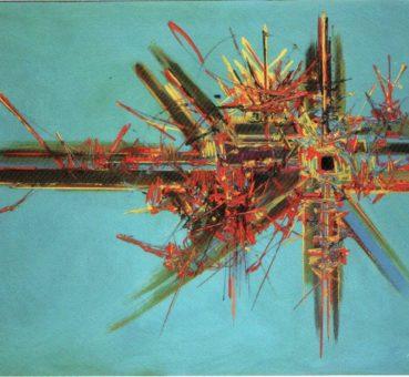 Peinture de Georges Mathieu
