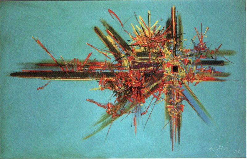Georges Mathieu, créateur de l'art lyrique