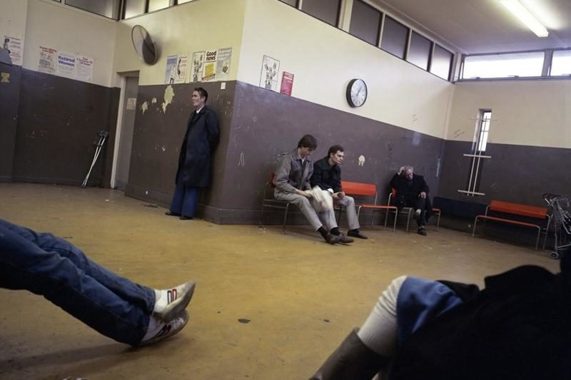 Paul Graham, Waiting Room, Poplar DHSS, East London, 1985.