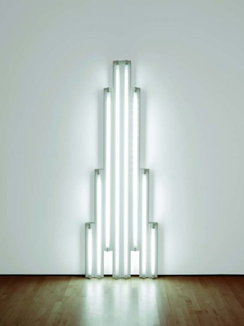 "Dan Flavin, ""monument"" for V. Tatlin"