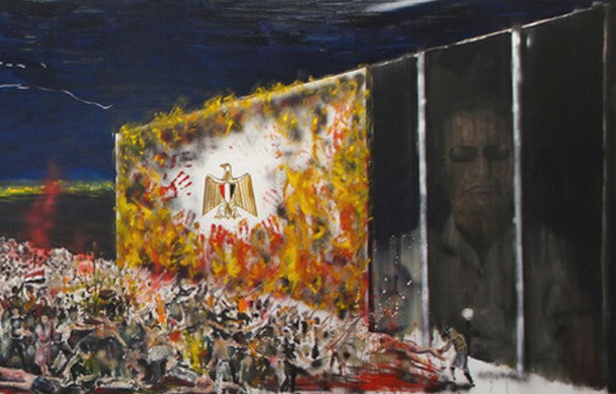 Stéphane Pencréac'h, L'histoire en marche dans la peinture contemporaine