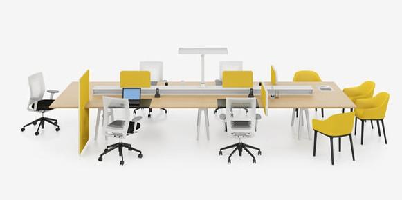 Bureau Joyn, design : Erwan & Ronan Bouroullec pour VITRA (2002)