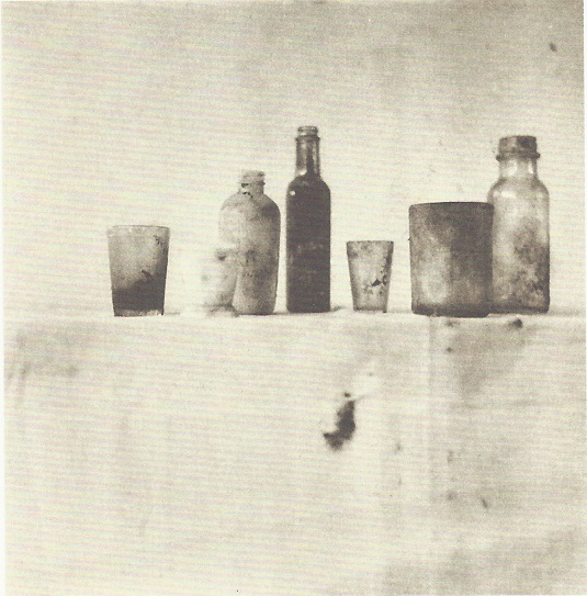 Cy Twombly, Still Life, 1951. Photographie réalisée au Black Mountain College