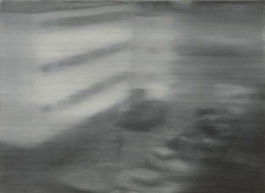 Gerhard Richter, Arrestation 1, 1988.