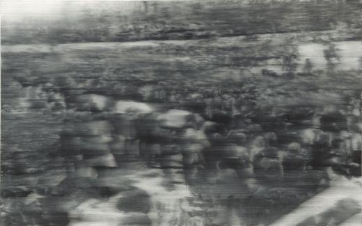 Gerhard Richter, Enterrement, 1988