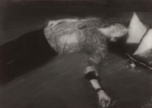 Gerhard Richter, Mort par balle 1, 1988.