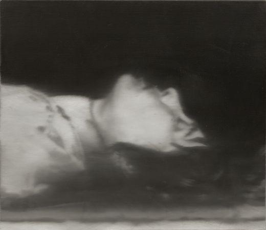 Gerhard Richter, Morte, 1988.