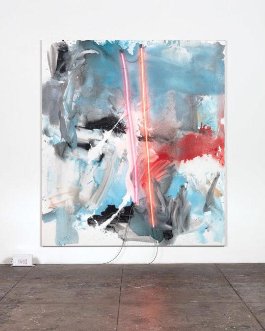 Mary Weatherford, Athena, 2018