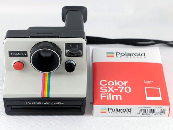 Le fameux polaroid SX-70