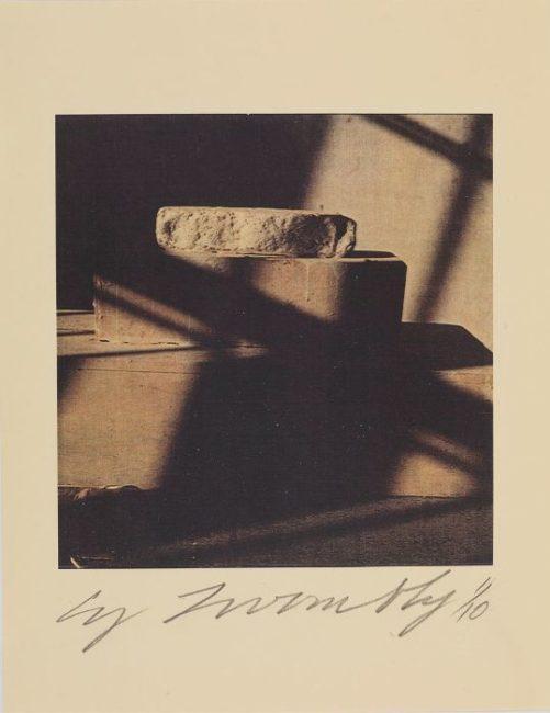 Cy Twombly, photo polaroid