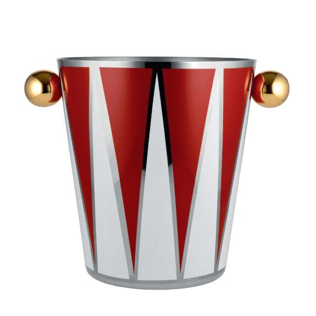 Seau à champagne Circus, design Marcel Wanders pour Alessi