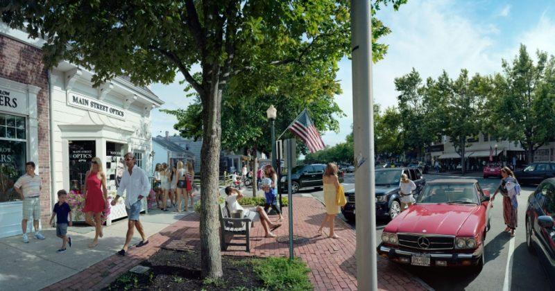 Scott McFarland, Main Street Optics, Main Street, Southhampton, New York, 2012.