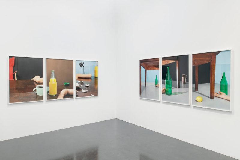 Vue de l'exposition de Barbara Probst au Bal, The Moment in Space, 10 mai-25 août 2019