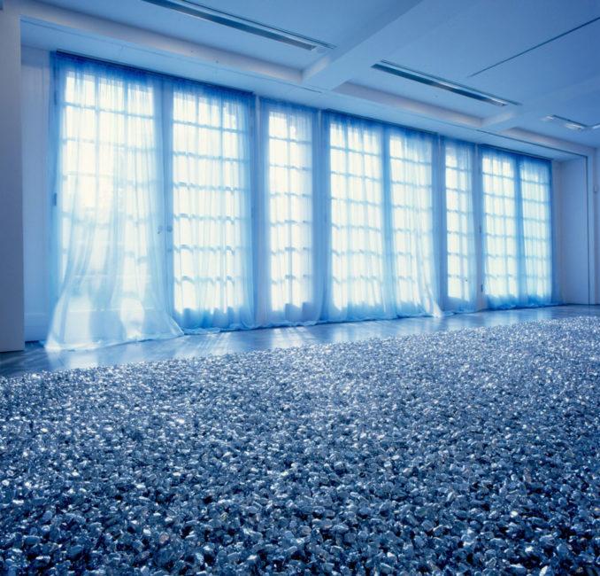 Felix Gonzalez-Torres, Placebo, Vue de l'Installation à l'occasion de l'exposition Felix Gonzalez-Torres, à la Serpentine Gallery