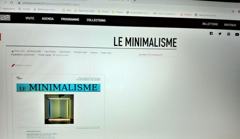 Vue du jeu Prisme 7, le 1er jeu vidéo du Centre Pompidou.