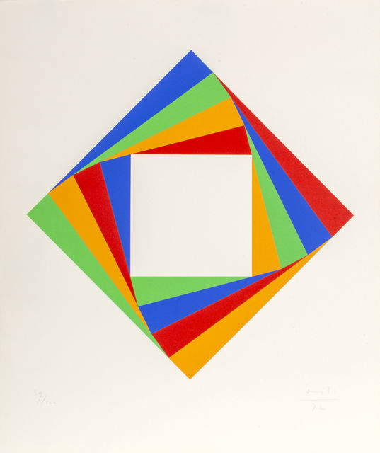 Max Bill, Diamond, 1972