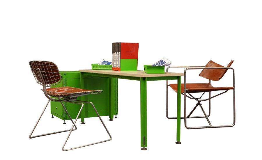 Mobilier conçu pour le Centre Georges Pompidou et la Bpi
