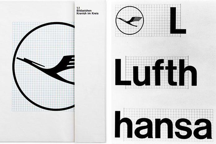 Otl Aicher, identité visuelle pour Lufthansa