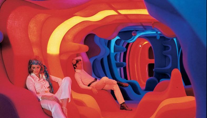 """Pour Visiona 2, Verner Panton conçoit """"Phantasy Landscape"""
