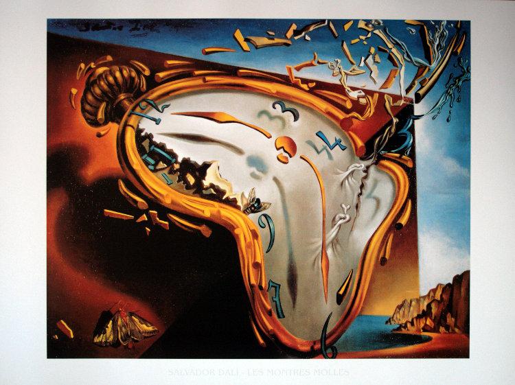 Salvador Dalí, La montre molle, 1931