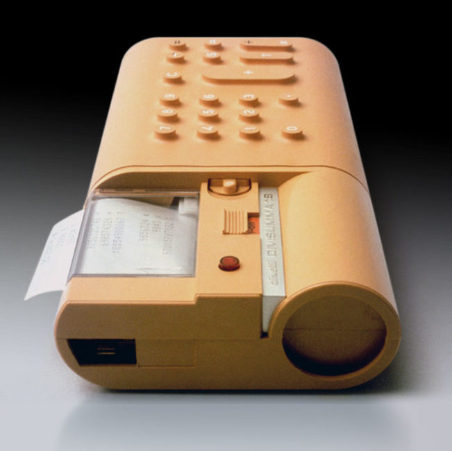 Calculatrice Divisumma 18, design Mario Bellini pour Olivetti, 1972