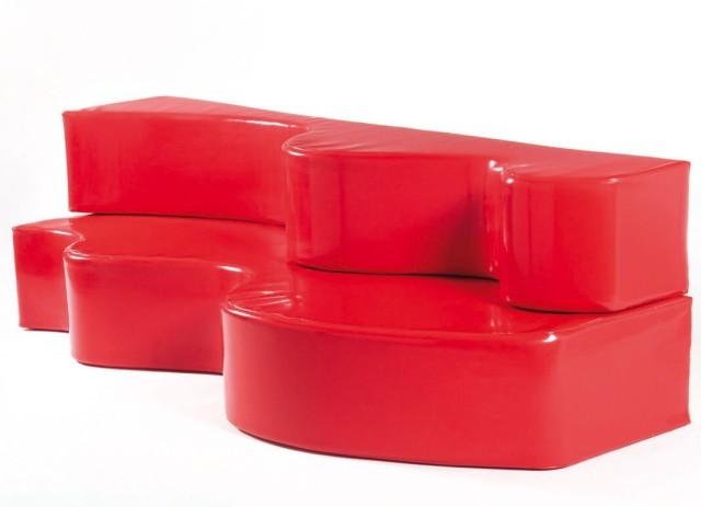 Canapé Superonda, 1966, design Groupe ARCHIZOOM Associati (1966 - 1974)