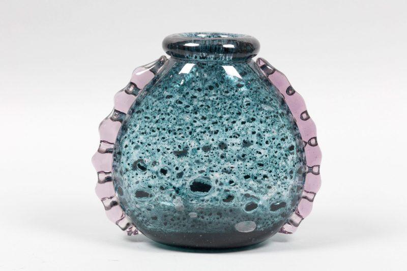 Vase de la série Laguna Gemmata, conception Ercole Barovier pour Ferro Toso Barovier, vers 1935