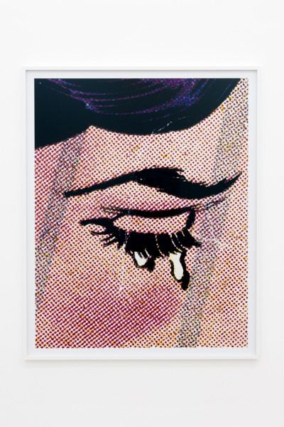 Anne Collier, Woman Crying (Comic) #25