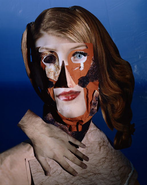 Red Headed Womain, photographie Daniel Gordon, série PORTRAIT STUDIO 2008-2009