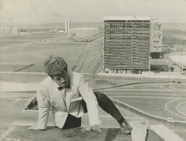 Jean-Paul Belmondo dans l'Homme de Rio