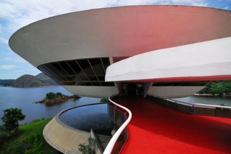 Musée d'art contemporain Niteroi, Rio de Janeiro